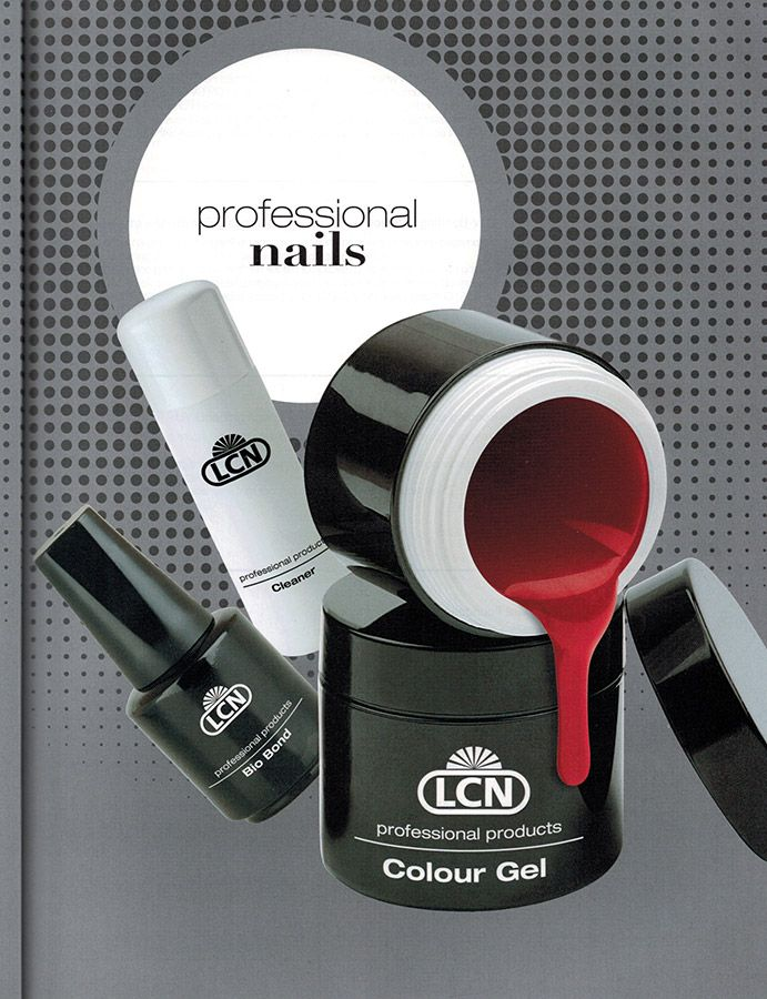 LCN professional nail products