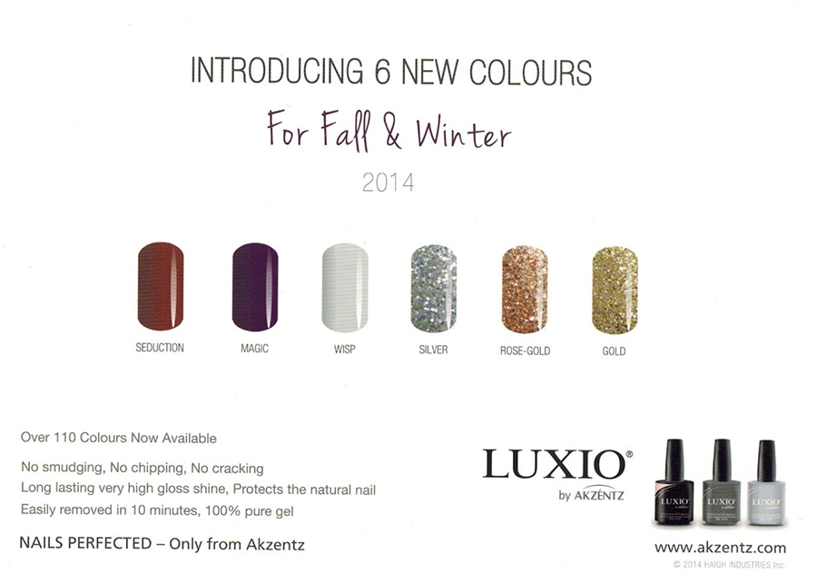 fall winter colours