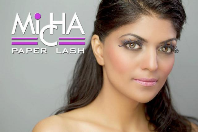 Micha paper lashes